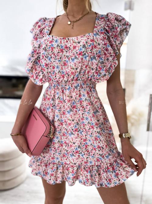 sukienka w kwiatowy print Elias