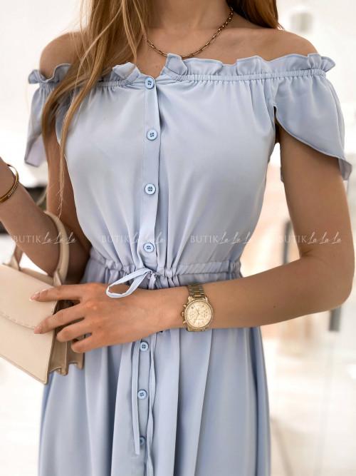 sukienka błękitna Laviva