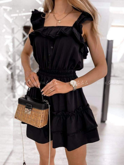 sukienka czarna Dasti
