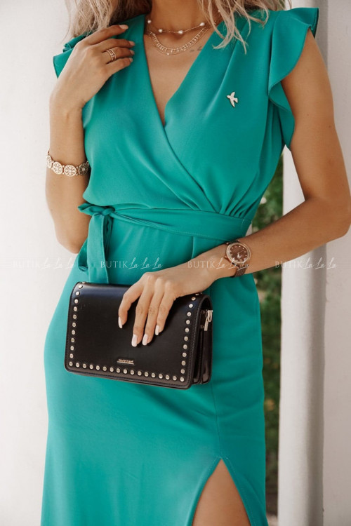 sukienka zielona Azil