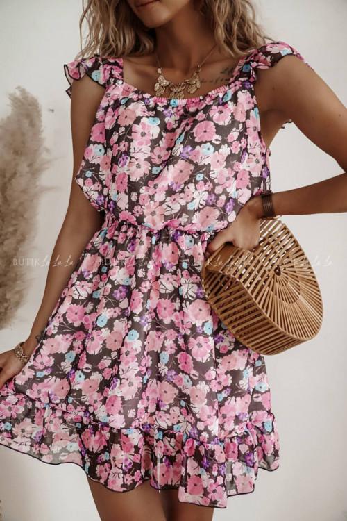 sukienka w kwiatki Joll