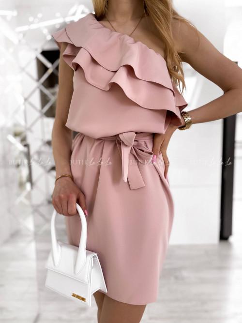 Sukienka pudrowa Bocca