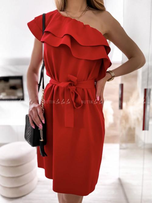 Sukienka czerwona Bocca