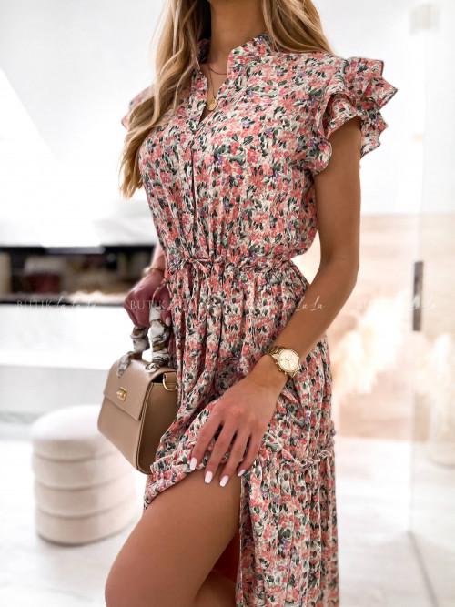 Sukienka wielokolorowa Ceita