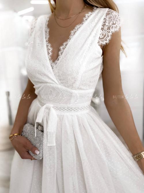 sukienka biała Stella