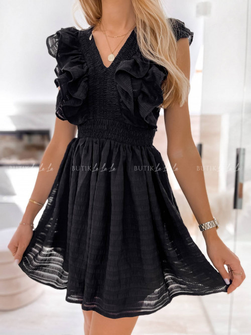 sukienka czarna Karla