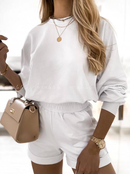 komplet dresowy biały Lila