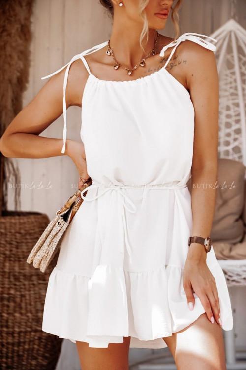 sukienka biała Summer