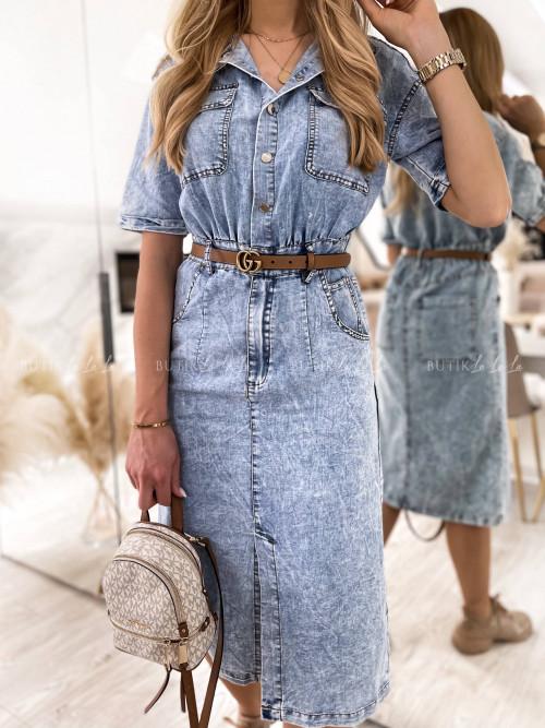 sukienka jeansowa Cornella