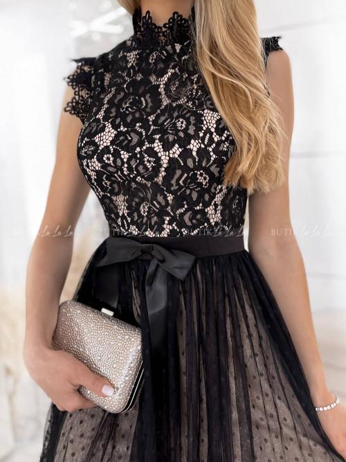 sukienka czarna Lejdis