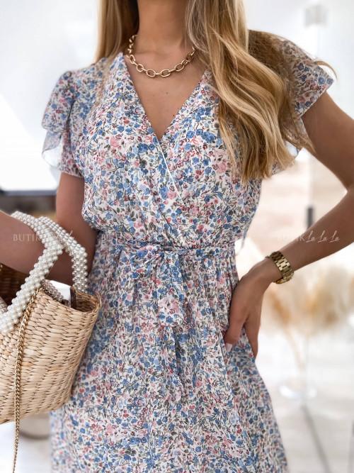 sukienka maxi w kwiaty Mally