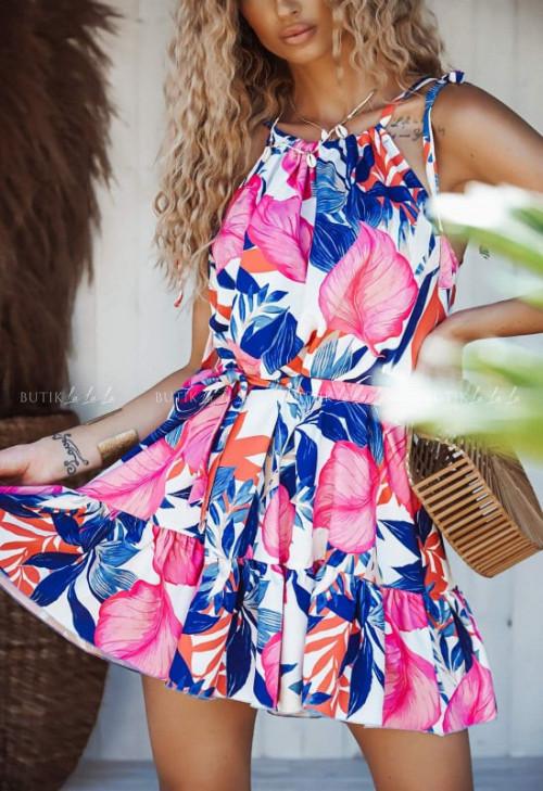 sukienka wielokolorowa Summer