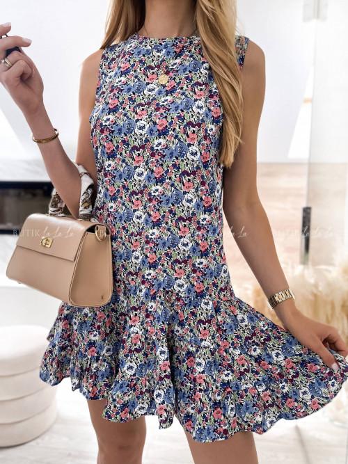 sukienka w kwiatki Wings