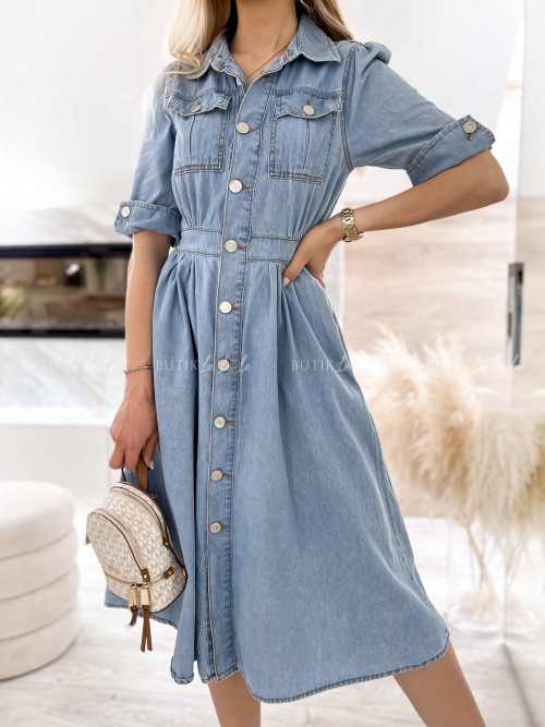 sukienka jeansowa Karlos