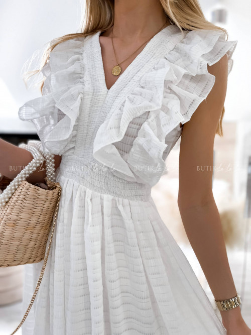 sukienka biała Kara