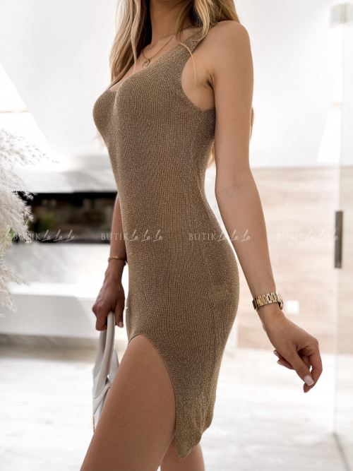 sukienka złota Samis