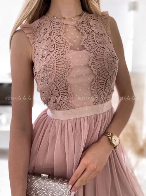 Sukienka Liamo Nude