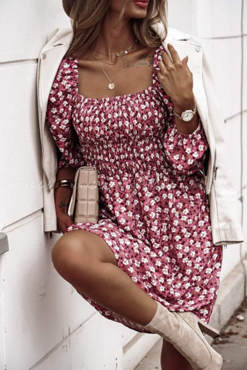 sukienka w kwiatki Amara
