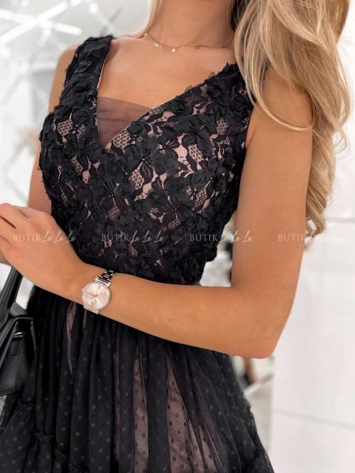 sukienka czarna Barissa
