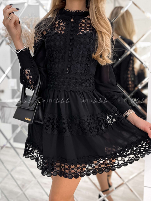 sukienka czarna Thiago