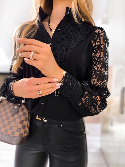 koszula czarna Limi