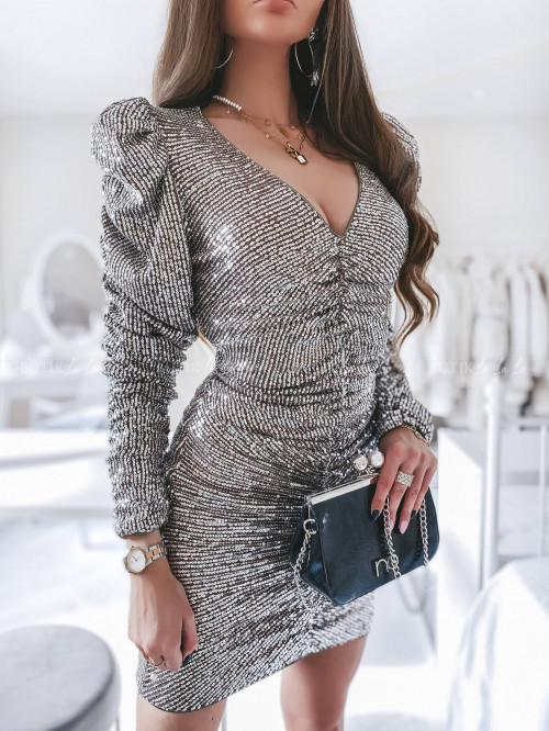 sukienka cafe cekinowa Ariel