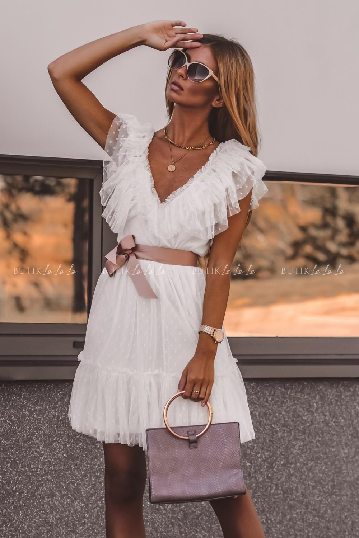 sukienka tiulowa letnia