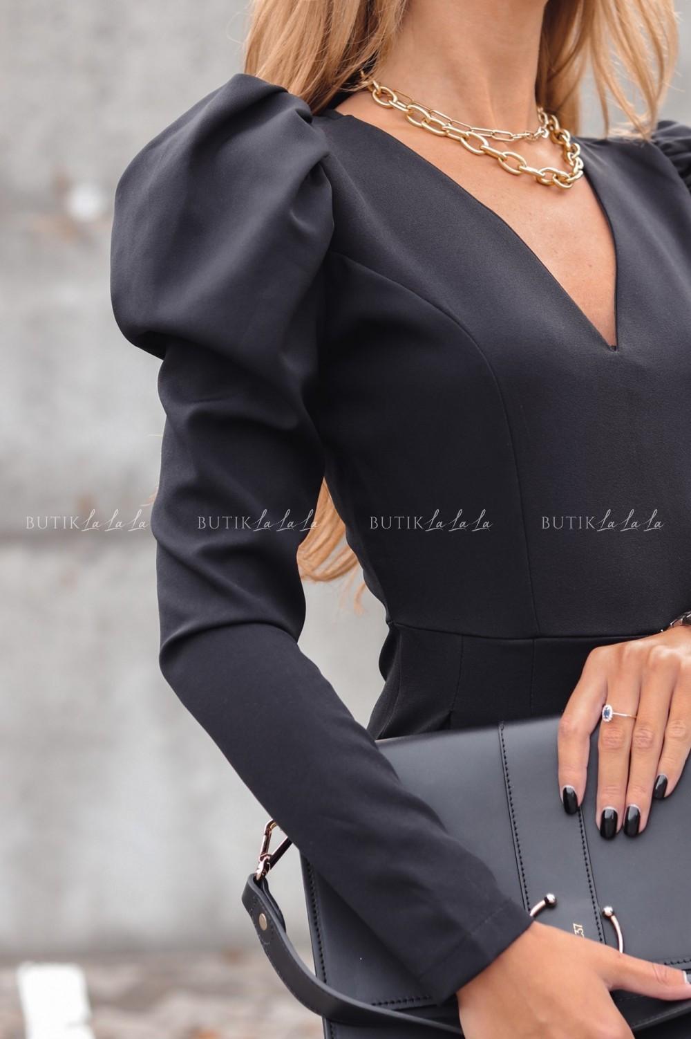 sukienka klasyczna czarna
