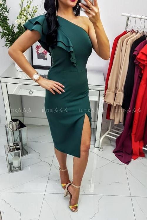 Sukienka Zielona Lumiana