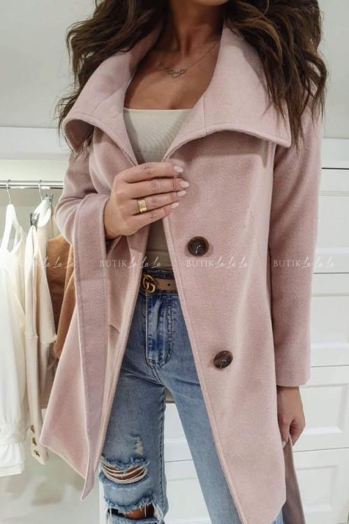 Płaszcz Pudrowy Róż Barbie