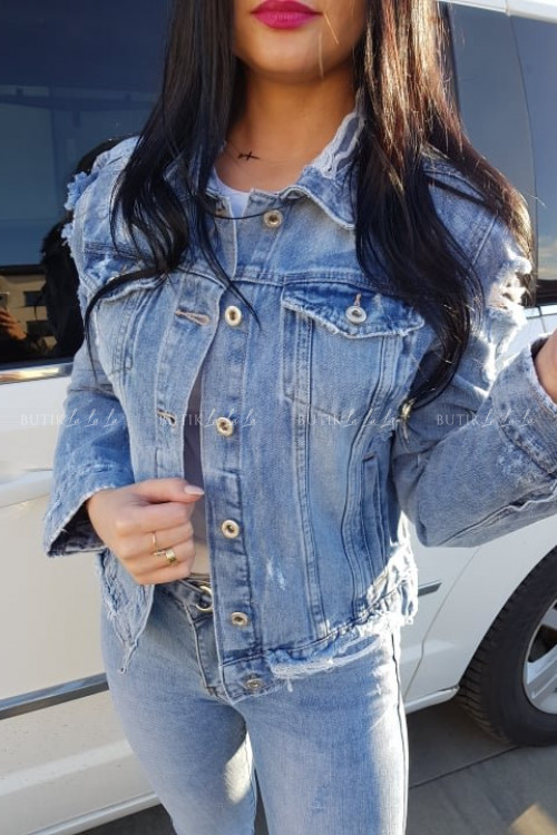 Katana z dziurami Jeans Eleni
