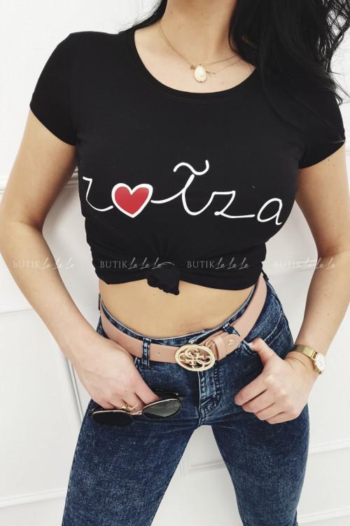 T-shirt Czarny Zołza