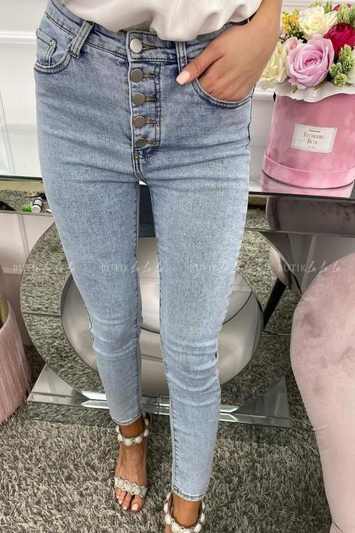 Spodnie Jeans na guziki Josephine