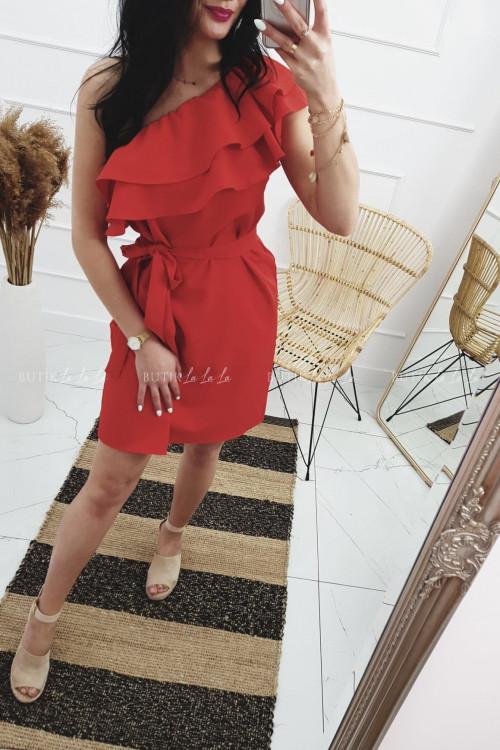 Sukienka Hiszpanka Czerwona Lolo