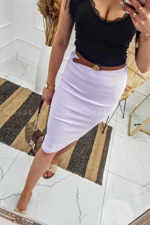spódnica maxi Liliowa