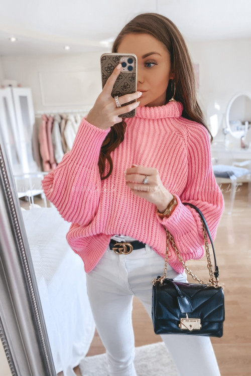 Sweterek różowy Mogli