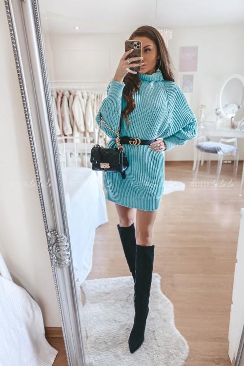 Sweterek przedłużany morski Mogli 2