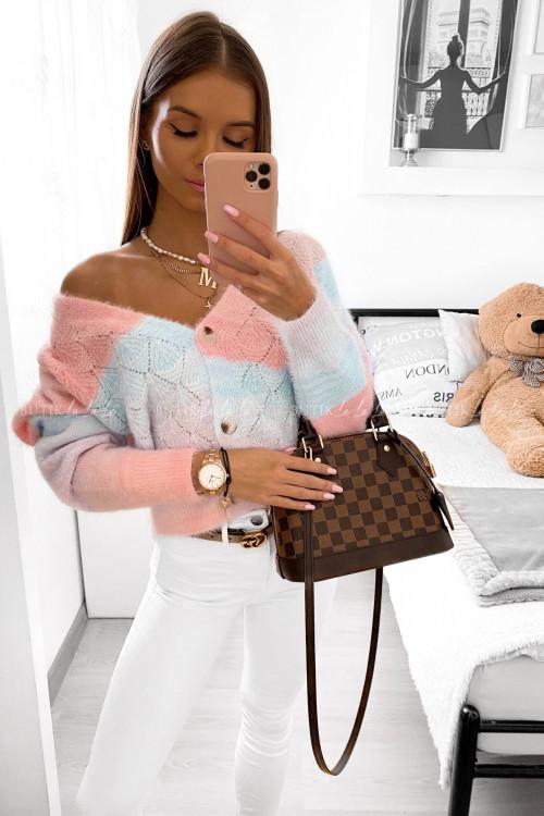 sweter wielokolorowy Paola