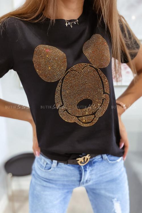 T-shirt czarny Miki