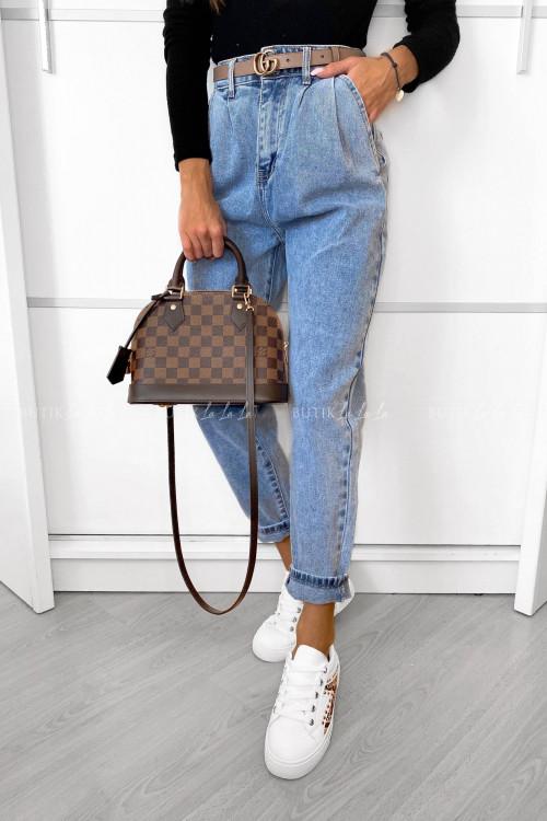 spodnie jeans blue Varist