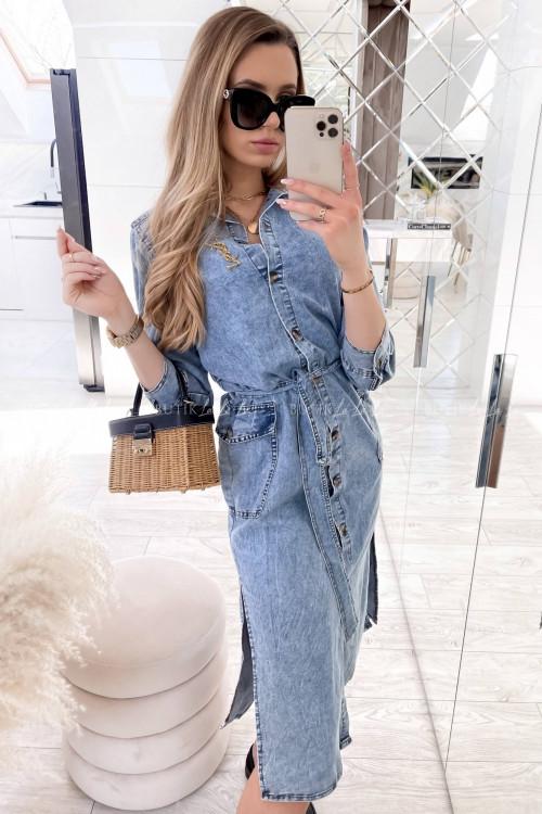 sukienka jeans blue Ciminy