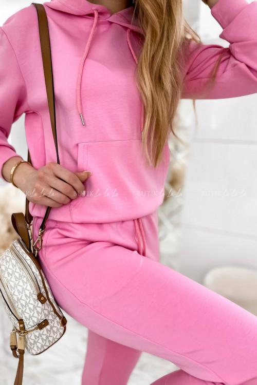 komplet dresowy różowy Lamu