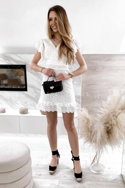 sukienka biała ażurowa Karina 3
