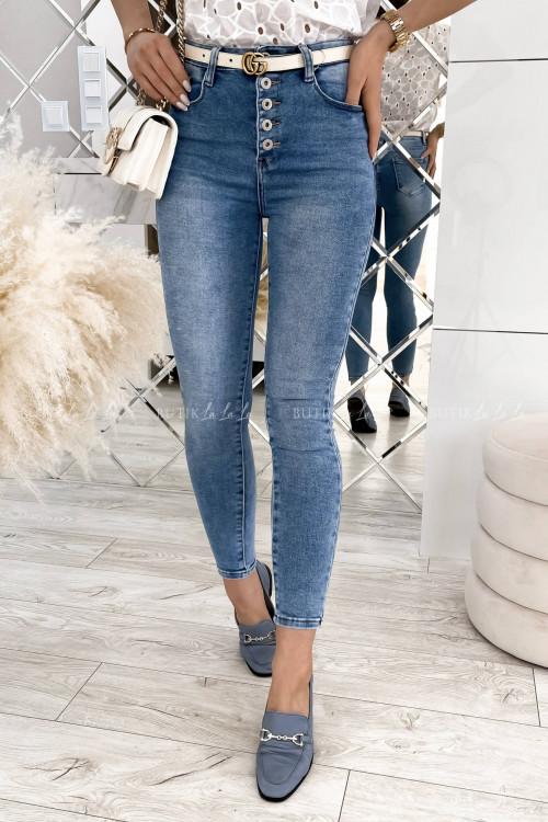 Spodnie jeans blue Fierro