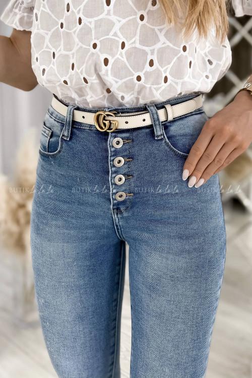 Spodnie jeans blue Fierro 1