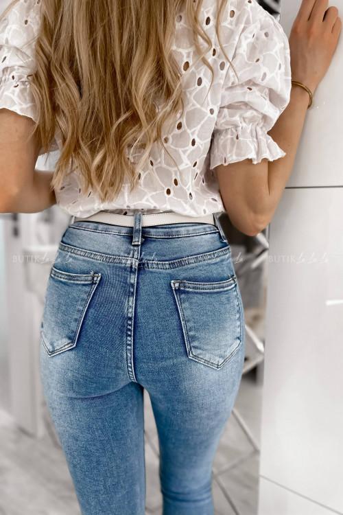 Spodnie jeans blue Fierro 3