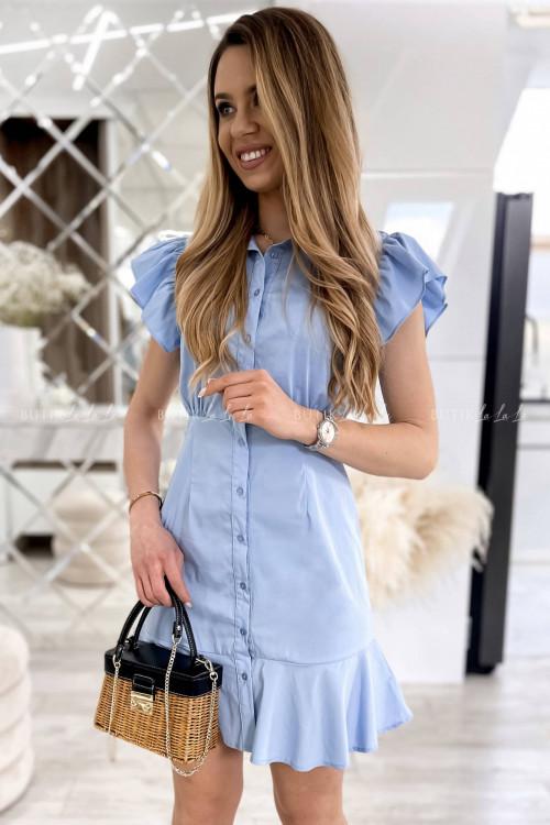 sukienka błękitna Narosti
