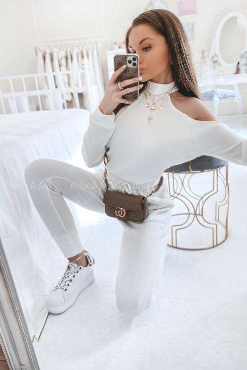 Komplet dresowy biały Casado
